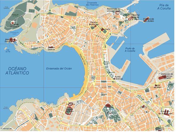A-Coruna_mapa