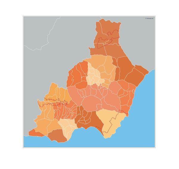 Almeria Municipios