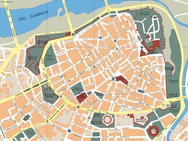 Badajoz_mapa