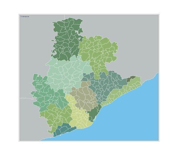 Barcelona Municipios