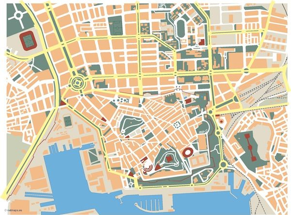 Cartagena_mapa_mudo