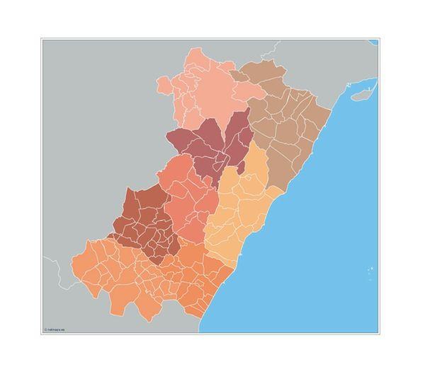 Castellon Municipios