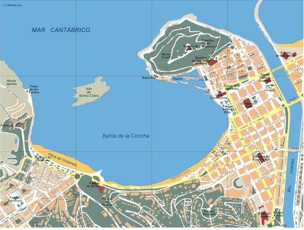 Donostia_mapa