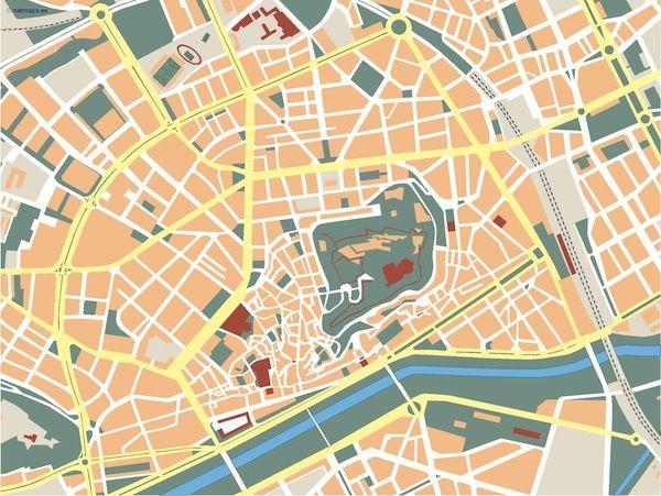 Lleida_mapa_mudo