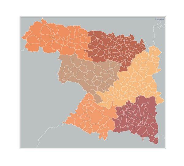 Zamora_Municipios