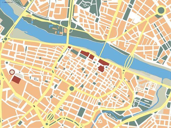Zaragoza_mapa_mudo