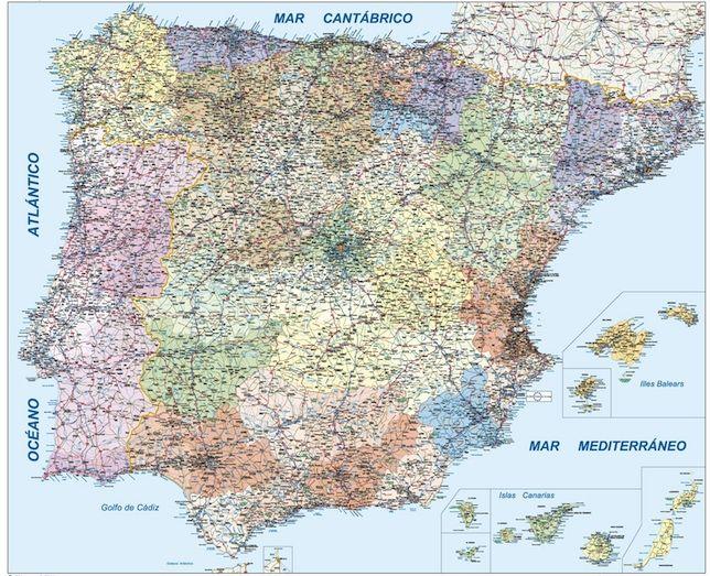España Carreteras 1:800.000
